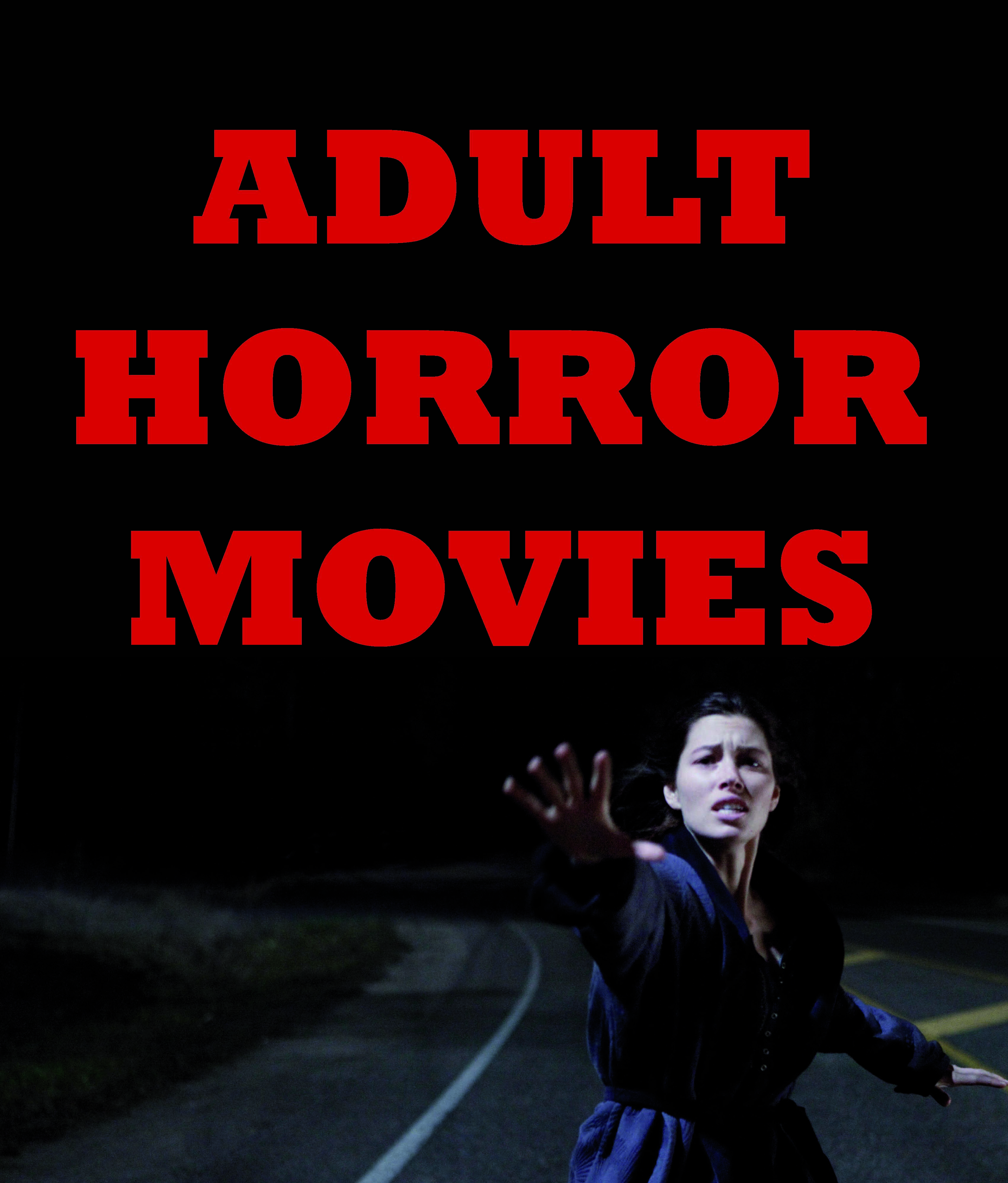 Plakat Adult Horror
